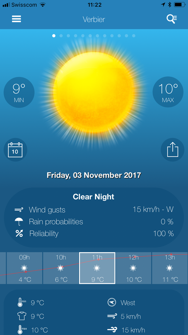 Weather News PRO Screenshot 1 view