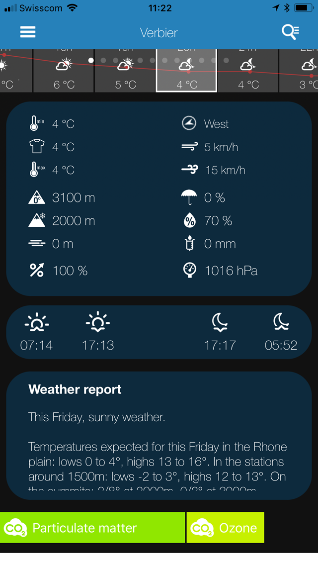 Weather News PRO Screenshot 2 view
