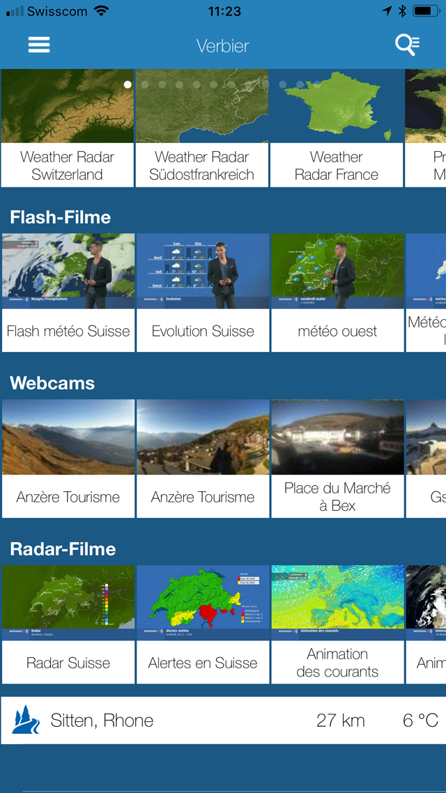 Weather News PRO Screenshot 3 view